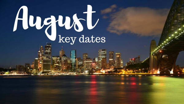 Social Media Content Plan Ideas: August