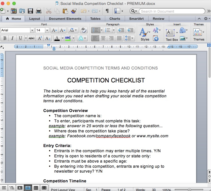 social media competition terms and conditions template rachel beaney